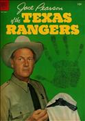 Jace Pearson of the Texas Rangers #6