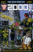 2000 A.D. Free Comic Book Day #2016