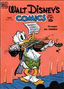 Walt Disney's Comics and Stories #114