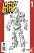 Ultimate Iron Man #1  - 2nd printing