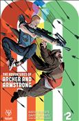 A&A: The Adventures of Archer & Armstrong #2 Variation B