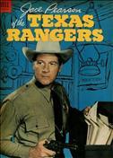 Jace Pearson of the Texas Rangers #7