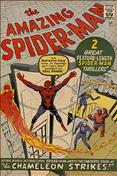 The Amazing Spider-Man #1 Golden Records Reprint