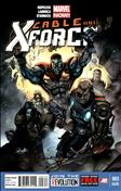 Cable and X-Force #3  - 2nd printing
