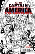 All-New Captain America #1 Variation K