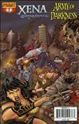 Xena/Army of Darkness: What…Again?! #1 Variation B