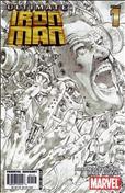 Ultimate Iron Man #1  - 3rd printing