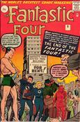 Fantastic Four (UK Edition, Vol. 1) #9