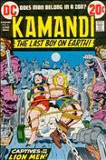 Kamandi, the Last Boy on Earth #6