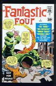 Fantastic Four (Vol. 1) #1  - 2nd printing