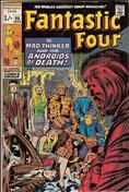 Fantastic Four (UK Edition, Vol. 1) #96