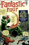 Fantastic Four (Vol. 1) #1 Golden Records Reprint
