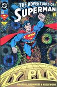 Adventures of Superman #505 Special Cover