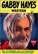 Gabby Hayes Western (L. Miller & Son) #71