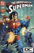 Adventures of Superman #536  - 2nd printing