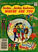 Archie…Archie Andrews, Where Are You? Digest Magazine #8