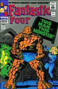 Fantastic Four (Vol. 1) #51  - 2nd printing