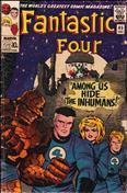 Fantastic Four (UK Edition, Vol. 1) #45