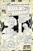 Back to the Future: Tales From the Time Train #1 Variation B