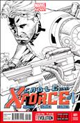 Cable and X-Force #1 Variation E