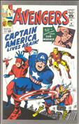 The Avengers #4  - 2nd printing