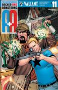 A&A: The Adventures of Archer & Armstrong #11 Variation B