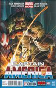 Captain America (7th Series) #3  - 2nd printing