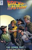 Back To The Future (IDW) #22 Variation A