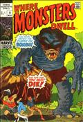Where Monsters Dwell (UK Edition) #9