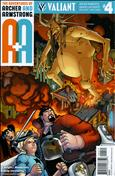 A&A: The Adventures of Archer & Armstrong #4 Variation A
