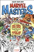 Color Your Own Marvel Masters #1