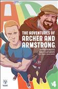 A&A: The Adventures of Archer & Armstrong #4 Variation B