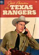 Jace Pearson of the Texas Rangers #8