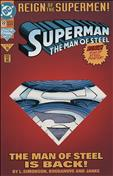 Superman: The Man of Steel #22 Special Cover