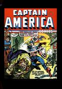 Captain America Comics Book #2 Hardcover