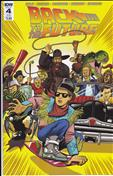 Back To The Future (IDW) #4 Variation A