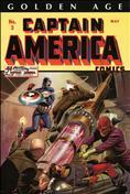 Golden Age Captain America Omnibus #1 Hardcover