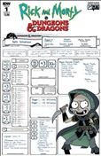 Rick and Morty vs. Dungeons & Dragons #1 Variation B