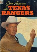 Jace Pearson of the Texas Rangers #5
