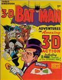 3-D Batman #1  - 2nd printing