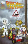 Back To The Future (IDW) #1 Variation B